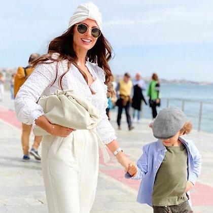 Mommy Turban Ivory