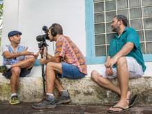 Xavier Vatin, Bruno Graziano e Betão Aguiar