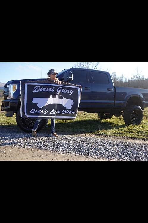 County Line Clean Flag