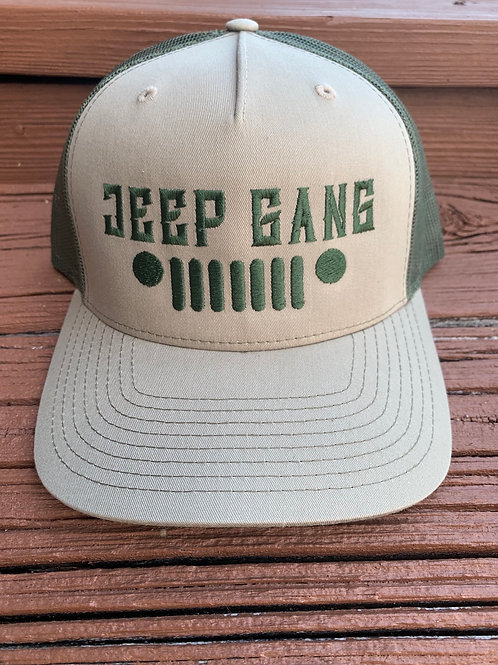 Military Green Jeep Gang