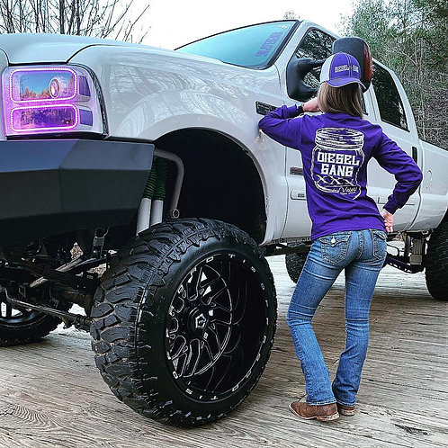 Purple Country Valet Long Sleeve