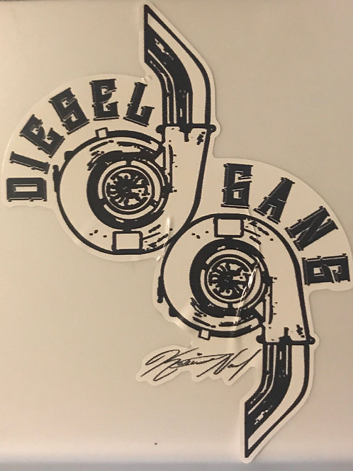 Twin Turbo Decal