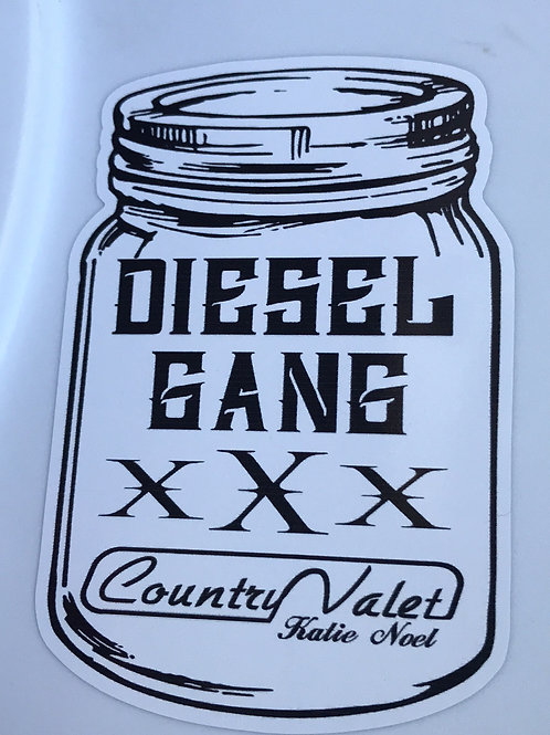 Country Valet Decal