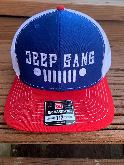 Merica Jeep Gang SnapBack