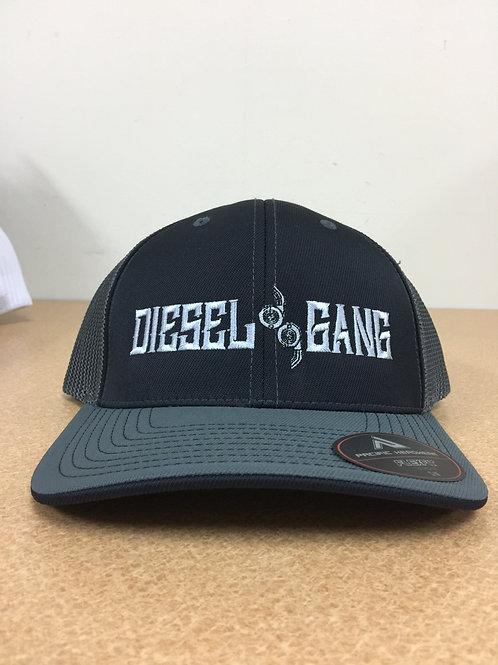Fitted Black Diesel Gang Hats