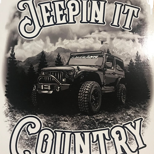 JEEPIN IT COUNTRY JEEP