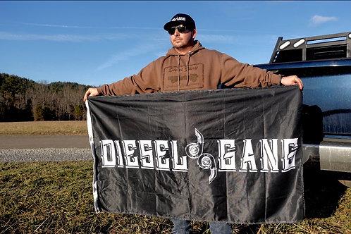 Classic Diesel Gang Flag