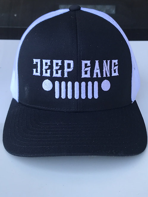 FITTED JEEP GANG Black/white