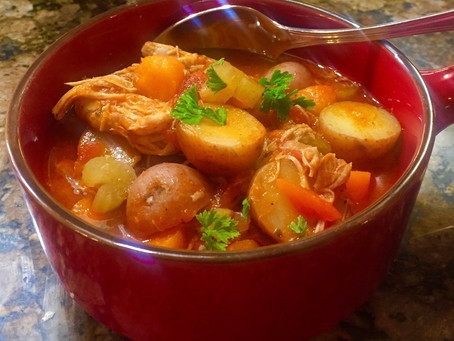 Instant Pot Hearty Chicken Stew