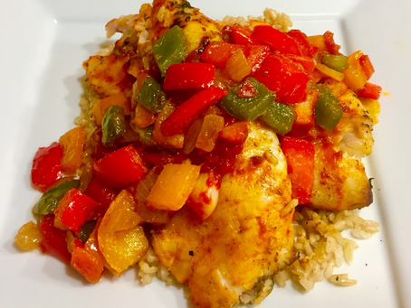 Creole Grilled Red Snapper