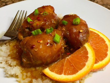 Crock Pot Orange Glazed Chicken