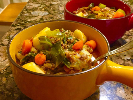 Instant Pot Hearty Beef and Cabbage Stew