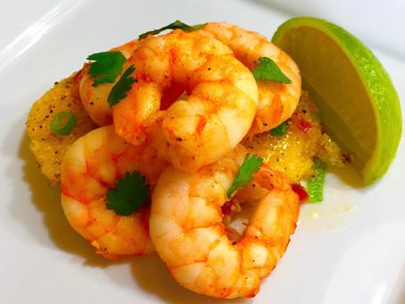 Cajun Shrimp (Cooked in air fryer)
