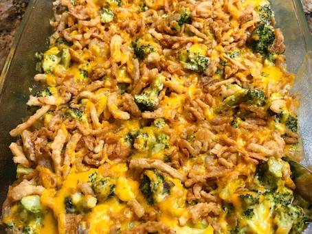 Easy 5-Ingredient Broccoli Casserole