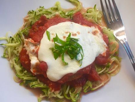 "Backyard-To-Table Eggplant Parmesan and Healthier ""Fried"" Okra"