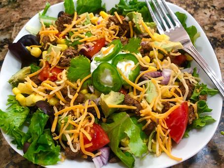 Garden Fresh Mexican Salad