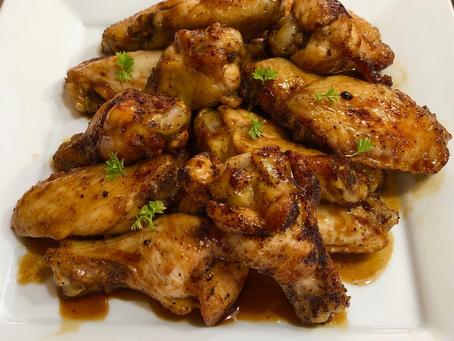 Ancho Honey Chicken Wings