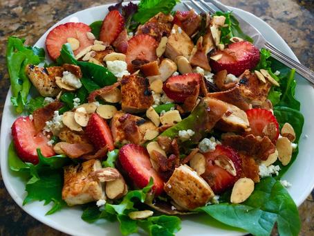 Summer Strawberry Salad