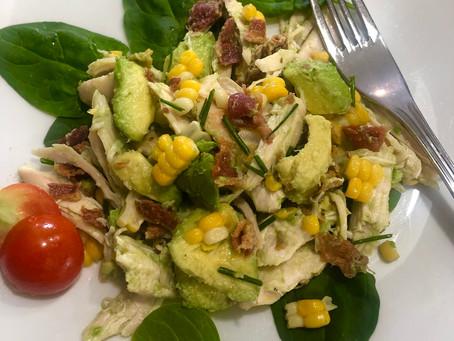Chicken, Bacon Avocado Salad
