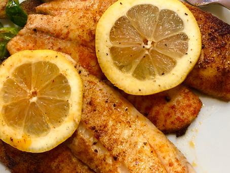 Pan Seared Lemon Butter Tilapia