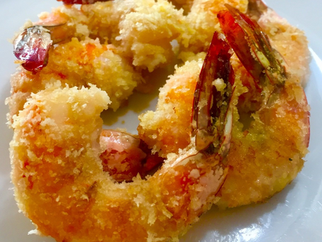 Oven Fried Shrimp