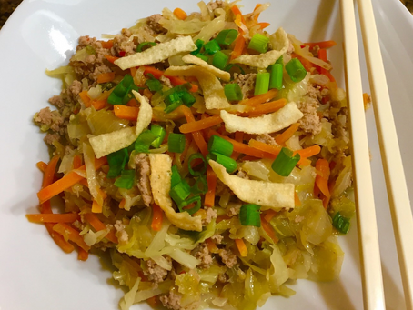 Instant Pot Egg Roll Bowl