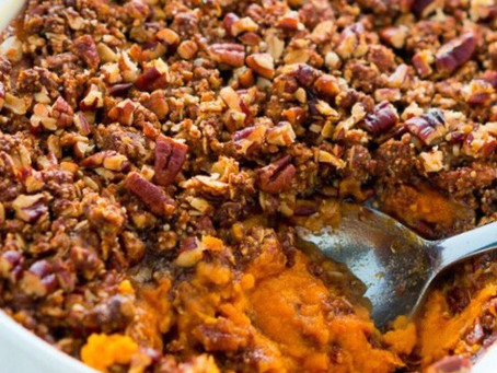 Margaret's Sweet Potato Casserole