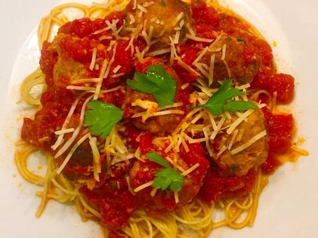 Turkey Meatballs in Marinara Sauce