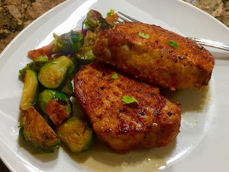 Spiced Rubbed Pork Chops (Air Fryer)