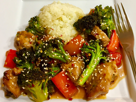 "(Air Fryer) Pork Tenderloin ""Stir-Fry"""