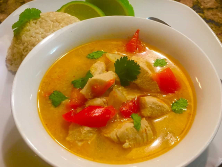 Instant Pot Thai Coconut Chicken Soup