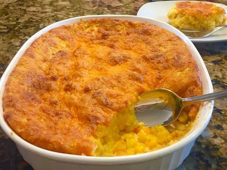 Easy Cheesy Corn Casserole