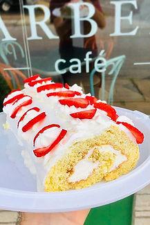 """""""Strawberry Roll Cake"""". yep...it's  just"""