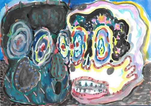 仙人掌6 12x17cm watercolour on.jpg