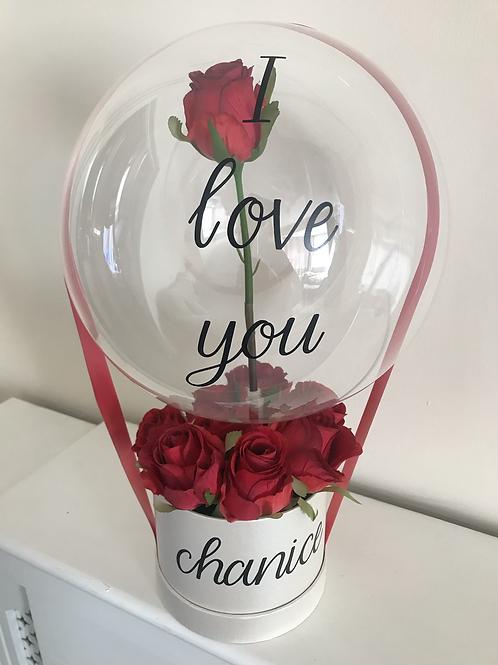 Artificial Memorial Balloon Box