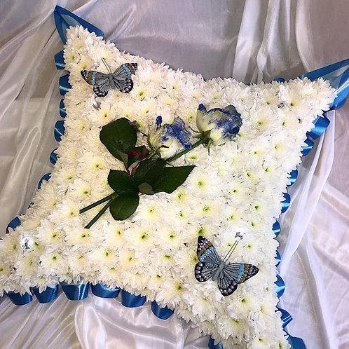 White Based Cushion