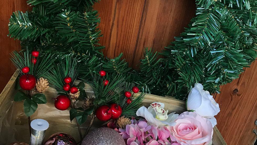 Artificial Wreath DIY Kit