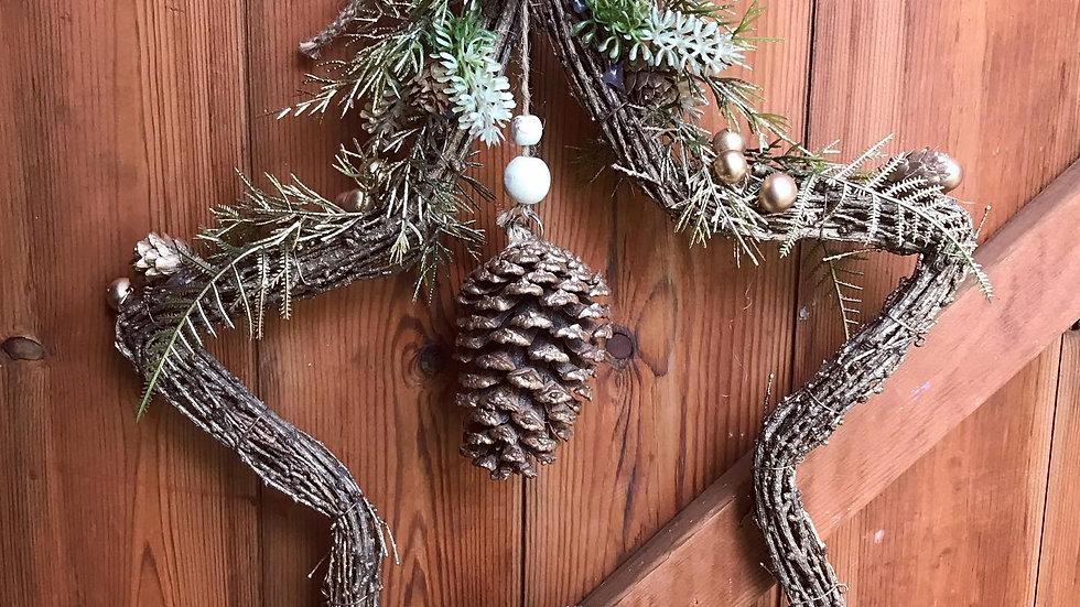 Star Wicker Wreath