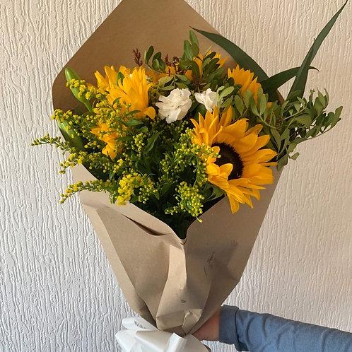 Sunny Flowers Wrap