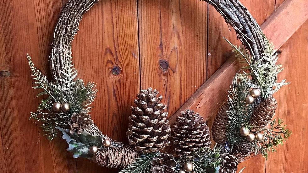 Round Wicker Wreath