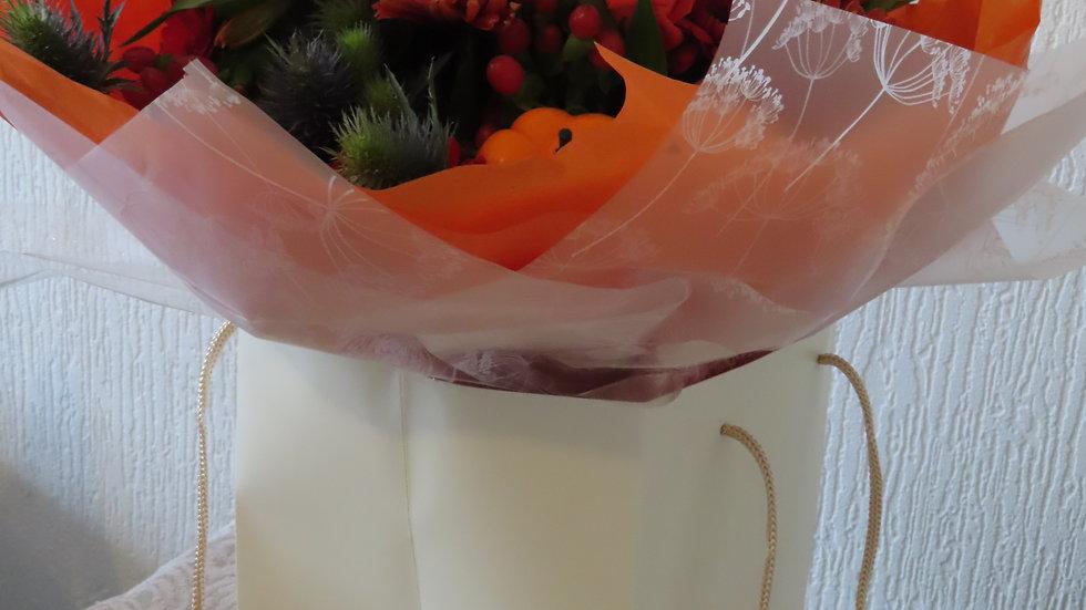 Rose Autumnal Bouquet