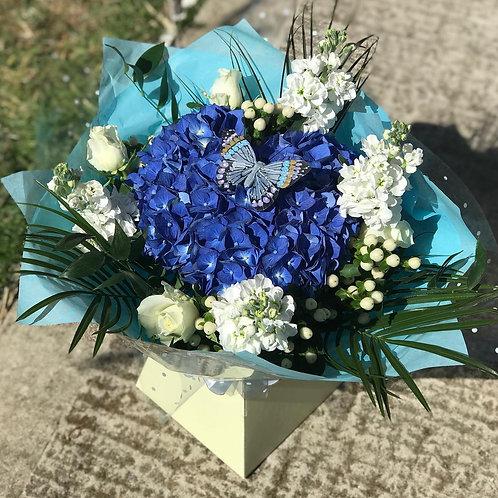 Ayse Baby Blue Bouquet