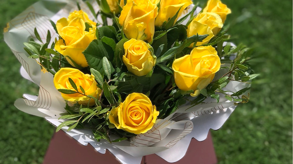 All Yellow Roses