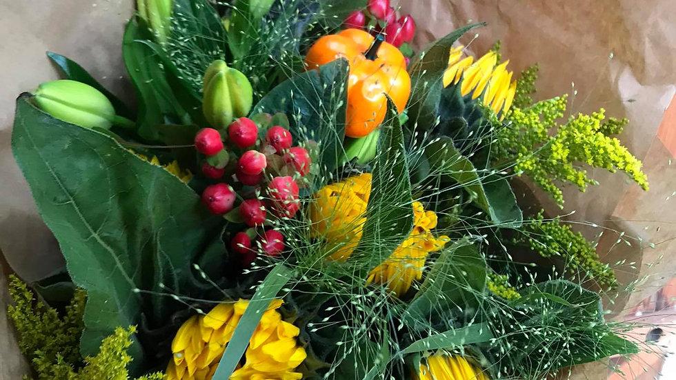 Sunflower Autumnal Bouquet