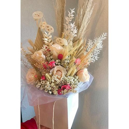 Luxury Pastel Pink Dried Bouquet