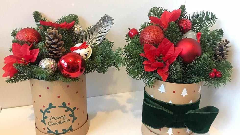 Christmas Hatbox