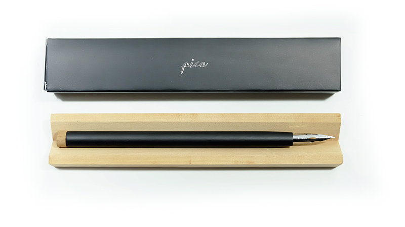 Pica staight pen : Flat Black
