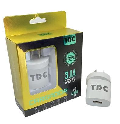 Cod: CVUNIV1C3.1 1 USB Potencia 3.1AMP Cable de 1Mt STAR Seguridad Electrica