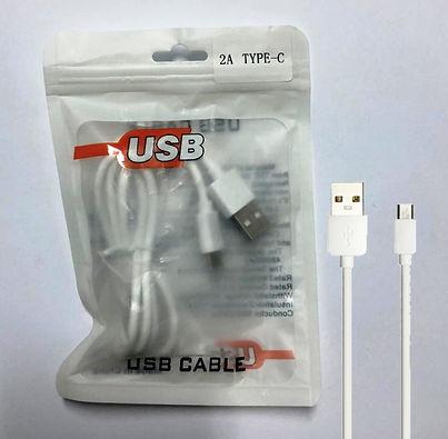Cod: DC2ATIPOC Transfiere Datos / Carga Corriente Salida: 2.0AMP Micro USB Colores: Blanco