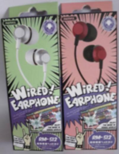 COD: MLRRM512 Audifonos Metalicos Cable 1.2Mts Pin 3.5mm Control de Volumen Boton Contestar / Colgar Colores: Plata / Rojo